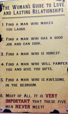 Humor for women, jokes about men, jokes about guys ...For more jokes funny visit www.bestfunnyjokes4u.com/