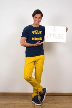 T-shirt French Disorder, chino AT.P.CO et baskets Nubikk
