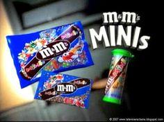 Televisiereclame: M&M's (mini's)