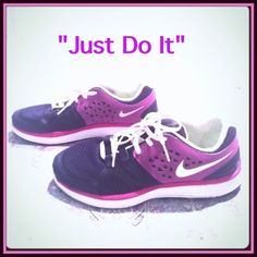 Nike Lunarswift 3 Sneakers 6 Pink purple black and white sneakers. Mint condition. Size 6y Nike Shoes Sneakers