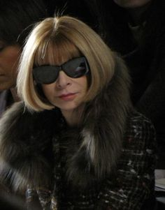 ac69da98be1e07 The woman with the final say on Fashion  Anna Wintour. iconic editor-in