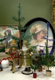 Antique Christmas display at the Taft Museum of Art in Cincinnati 2005