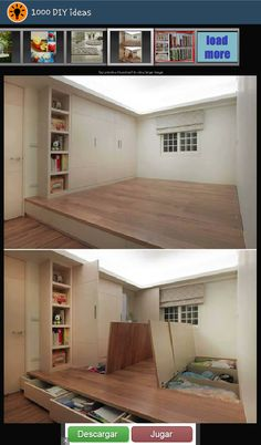A Raised Floor For Storage