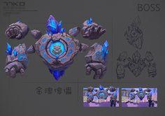 -- Share via Artstation iOS App, Artstation © 2016 Character Design Animation, Character Creation, Character Concept, Character Art, Weapon Concept Art, Game Concept, Monster Design, Monster Art, Geometric Shapes Drawing