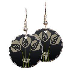 Art Deco Style Tulip Earrings $22.99
