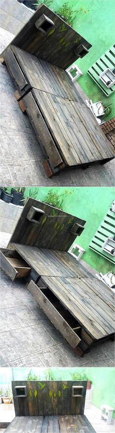 upcycled-pallet-wooden-bed