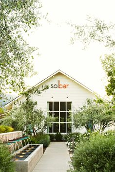 Solbar offers creative Northern Californian fare paired with biodynamic wines. #Jetsetter