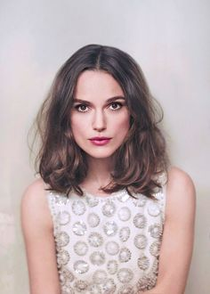English actress, singer and model Keira Knightley (b. 1985) in a photograph by Emily Hope for Chanel's fragrance Coco Mademoiselle//