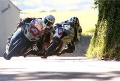 Dan Kneen and Michael Dunlop Isle of Man TT 2014