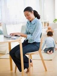 Work-at-home jobs that really pay.  No surprise that direct sales companies top the list.