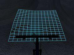 路面の形状が分かる:Concept LED Light Could Light Up Cyclists' Path Like A Fighter Plane