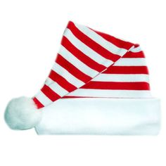 Jacquis Unisex Baby Red Peppermint Knotted Christmas Hat Seven Sizes!