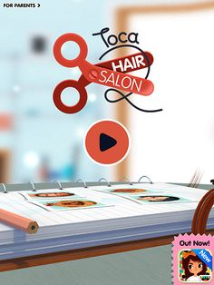 Toca Hair Salon 2 review  http://www.sweetkidsapps.com/toca-hair-salon-2-review/