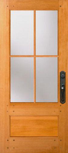 New Doors from Simpson   Browse Door Types and Styles  77504 Nantucket -  front door