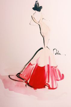 BEAUTIFUL illustrations of last night's best Met Gala gowns