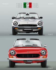 Poster Ready to print. Fiat 124 Sport Spider, Fiat 124 Spider, Old Sports Cars, Sport Cars, Bus Engine, Fiat Cars, Fiat Abarth, Fiat 500, Concept Cars
