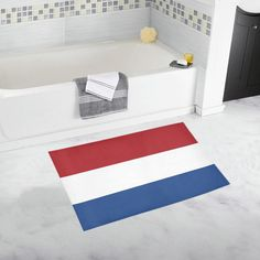 Dutch Flag Bath Rug 20''x 32''