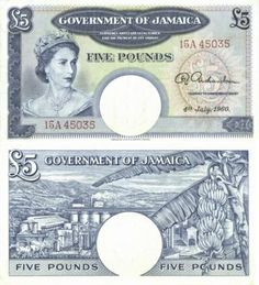 Jamaica Money | Jamaican Paper Money