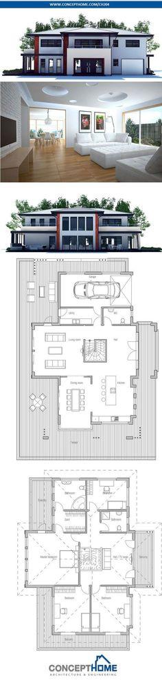 Modern House Plan.: