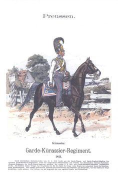 Band XIV #23.- Preußen. 1. Kürassier Regiment (Schlesisches). 1821.