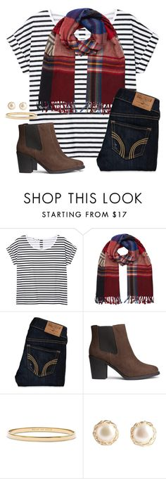 """""""Ankle boots"""" by anna-watson00 ❤ liked on Polyvore featuring Monki, Accessorize, Hollister Co., H&M and Kate Spade"""