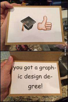 Graduating from art school