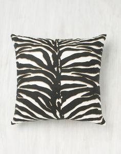ZEBRA kudde Home Accessories, Cushions, Throw Pillows, Fabric, Design, Home Decor, Business, Tejido, Toss Pillows
