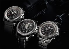 B04 GMT - B05 Unitime - B06 Breitling for Bentley celebrates ten years on the road with three new chronographs equipped with in-house motors