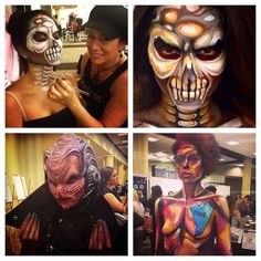 Happened at #TMSDallas! @jinnymakeup for @mehronmakeup, Cosmix School, and CMC Makeup School showing off some amazing artistry!   #TMSDallas #Artistry #Education #Inspiration #cmcmakeupschool #cosmixschool #mehronmakeup #jinnyartiste