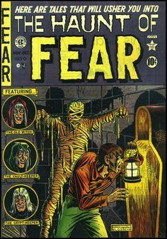 The Haunt of Fear #4, Nov.-Dec. 1950. Cover art by Al Feldstein