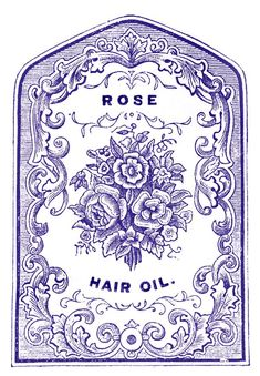 Antique Clip Art - Fabulous Pharmacy Labels(i don't know if it's small enough)