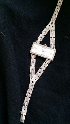 Cartier watch Art Déco.