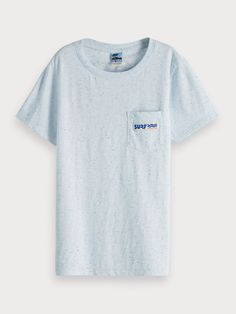 Now available: Back Logo T-Shirt Logo Color, Scotch Soda, T Shirts, Logos, Mens Tops, Tee Shirts, Shirt Types, A Logo, Tees