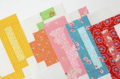 A is for Apple – Quilt Along #3