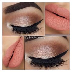 21 Insanely Beautiful Makeup Ideas for Prom ❤ liked on Polyvore featuring beauty products