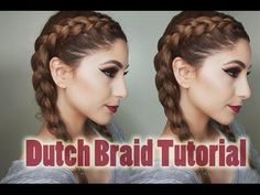 How To Double French Braid Step By Step • Hair For Beginners Ep. 6 | ShinyLipsTv…