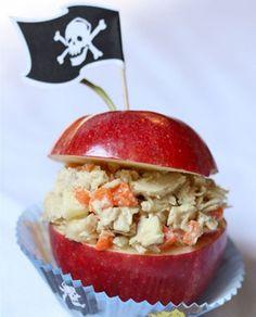 Apple-Tuna Treasure Chest Recipe
