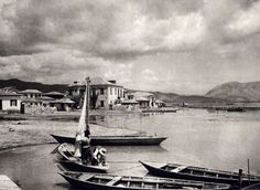"""The Swiss Fred Boissonnas is the systematic photographer of the Greek cultural and natural landscape, the """"Greek"""" photographer . Frederic, Island Weddings, Macedonia, Albania, Greek Islands, Slovenia, Vintage Photos, The Past, Boat"""