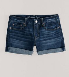 AE Denim Boy Fit Midi Short - Cute mid length shorts that aren't those skanky butt showing kind!