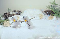 Bałwanek Olaf z rolki