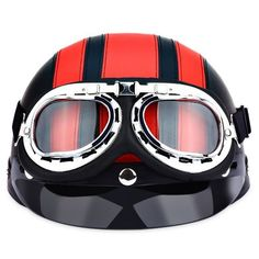 Costumes & Accessories Trend Mark Wwii Vintage Motorcycle Goggles Racing Glasses Helmet Light Eyewear Pilot Retro Motocross Daft Punk Helmet Steampunk Accessories