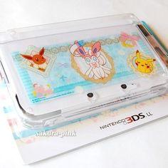 FOR Nintendo 3DS XL LL Pokemon Center Original Hard Cover Sylveon Eevee Pikachu | eBay