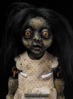 jamara zombie doll - reminds me of the old lady who lived in the dump on The Labyrinth