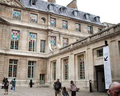 picasso museum - marais - then on to la turenne for lunch