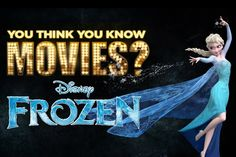 15 things you probably don't know about Frozen.