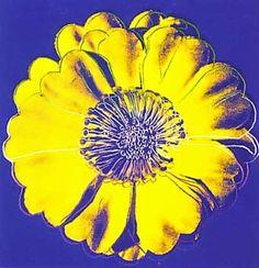 Andy Warhol flower
