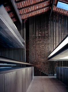 Row House, 2012, Olot, Girona, Spain. Rafael Aranda, Carme Pigem and Ramon Vilalta, 2017 Pritzker Architecture Prize Laureates. Image © Hisao Suzuki. Courtesy of the Pritzker Architecture Prize