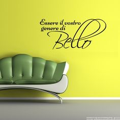 1000 images about galerie stickers citations italiennes - Phrase stickers muraux ...