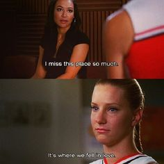 The Brittana breakup always makes me cry ❤️