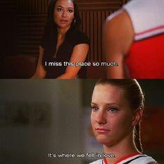The Brittana breakup always makes me cry ❤️